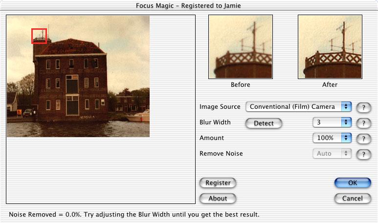 Focus Magic plugin on Mac